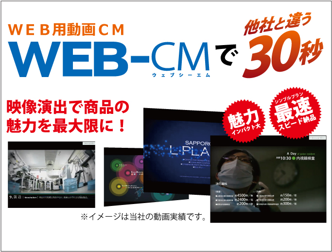 WEB動画CM