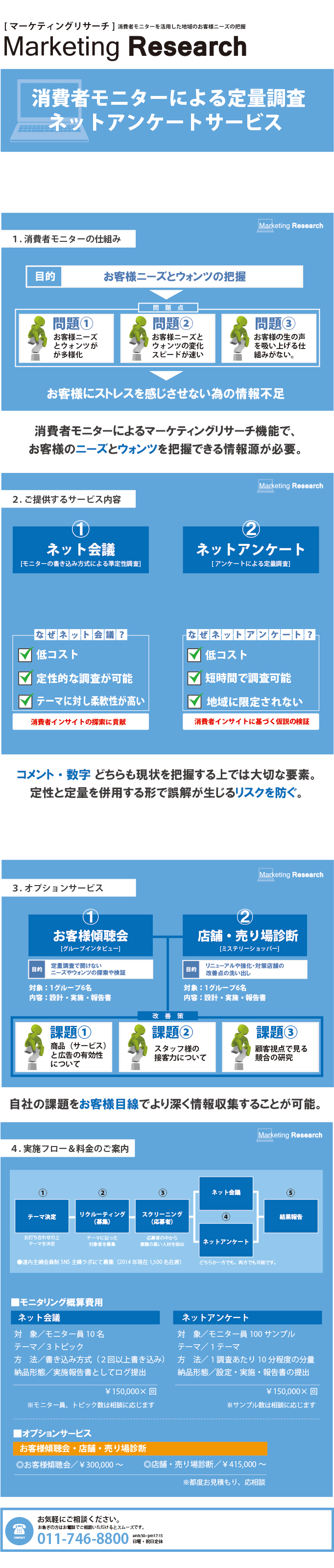 東洋印刷の消費者モニターサービス